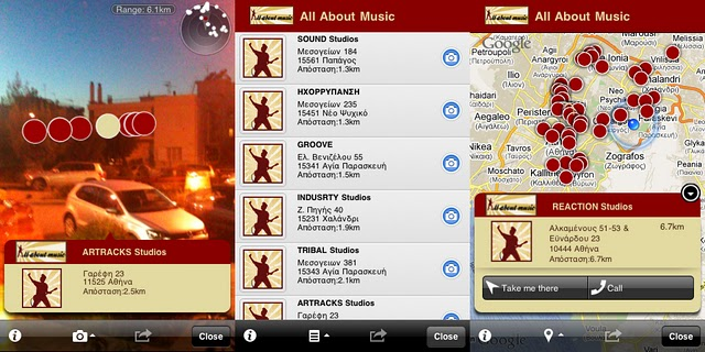 All about Music Layar layer screenshots
